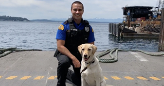 K9 Officer – Earning a living alongside man's best friend.